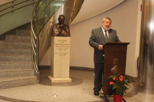Fukszberger Imre Csonkamindszent polgármestere